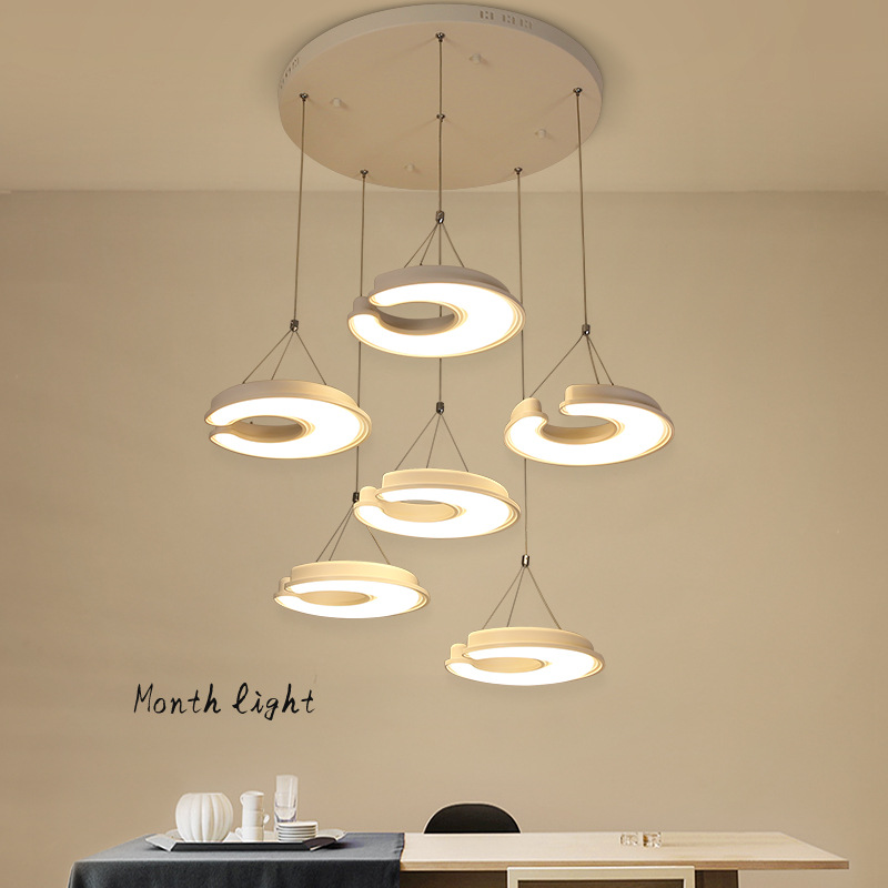 Painting Dining Room Chandelier: Dining Room Lustre Dimmable Led Pendant Chandelier Led