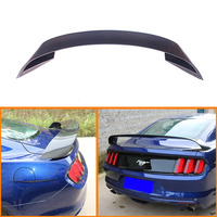 GT Style Carbon Fiber Rear wing Carbon Fiber CAR REAR WING TRUNK LIP SPOILER FOR Ford Mustang 2015 up GT 350