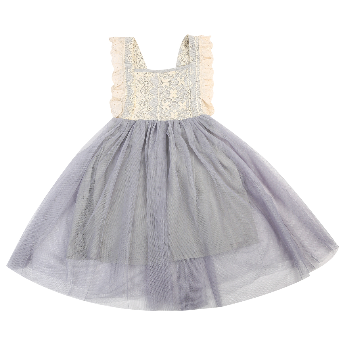 Flower Girl Clothing Princess Sequins Dress Toddler Baby Sleeveless Backless Fancy Party Tutu Dresses Girls toddler kids baby girls sleeveless orange cute cartoon back zipper fox fancy dress princess party tulle tutu dresses
