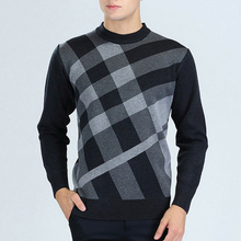 Hot Sale Men's Casual Winter Knitting Warm Sweaters O neck M