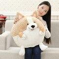 2017 Fat Dog Welsh Corgi Pet Toys Pillow Plush Cat Toys Soft Stuffed Plush Dolls Animal Puppy Dog Birthday Gifts C21