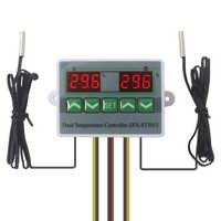 Contrôleur d'incubateur régulateur de température à double Thermostat numérique Intelligent Temp. Interrupteur avec double capteur