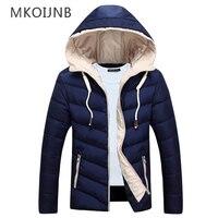 גברים מעיל M-4XL 2017 עיצוב חדש איכות מכירה חמה סתיו החורף חם להאריך ימים יותר מקרית סמל מותג מוצק זכר שובר רוח מעילים