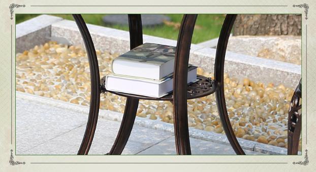 leisure European outdoor cast 9