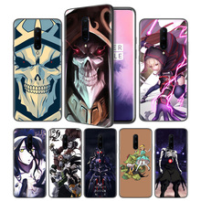 Overlord III Anime Soft Black Silicone Case Cover for OnePlus 6 6T 7 Pro 5G Ultra-thin TPU Phone Back Protective