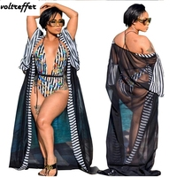 Floral Print Bodycon Bodysuit Women Sexy One Piece Playsuits Shorts Black Striped Mesh Cloak Casual Two