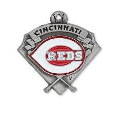Baseball Cincinnati Reds Metal Alloy Enamel Pendant Charms DIY Dangle For Necklace&Bracelet/ Earring Sport Jewelry