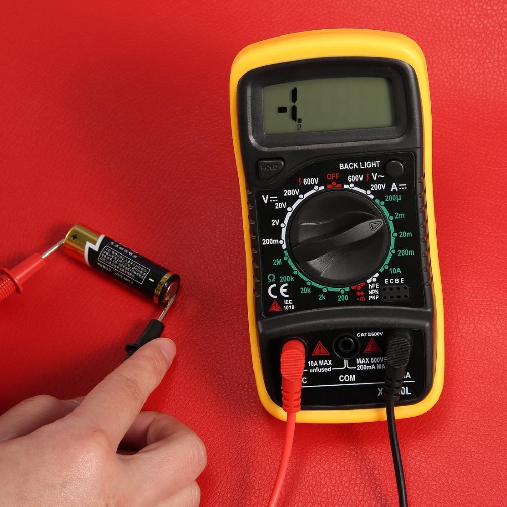 цена на Fashion Digital LCD Multimeter Voltmeter Ammeter AC DC OHM Volt Tester Test Current