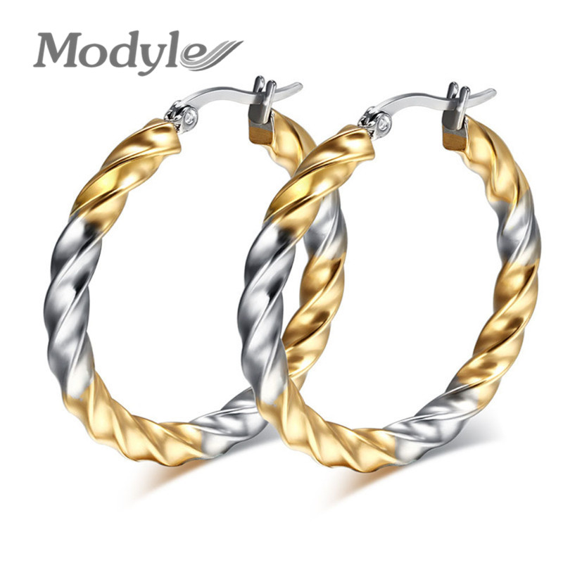 line Buy Wholesale gold twist rope earrings from China gold