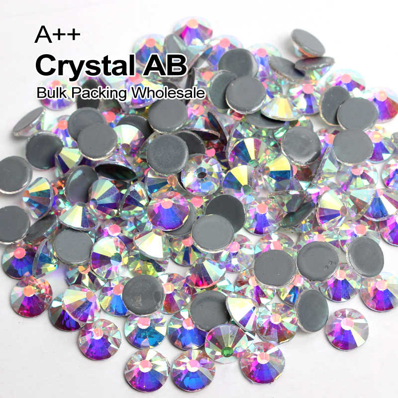 Detail Feedback Questions about A++ Bulk Packing high quality Crystal AB  Similar Hotfix Rhinestones Ss6 Ss8 Ss10 Ss12 Ss16 Ss20 Ss30 Free Express  Shipping ... ed0a33925ff9