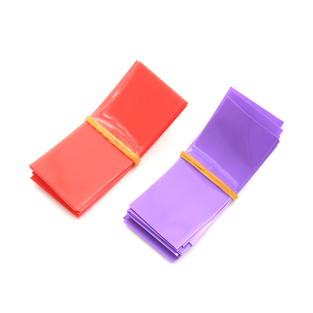 20PCS Li-Ion 18650 Batterie Wrap PVC Schrumpf Schläuche Vorgeschnittenen Wahl Größe 30*70mm Batterie Film Band batterie Abdeckung Whosesale