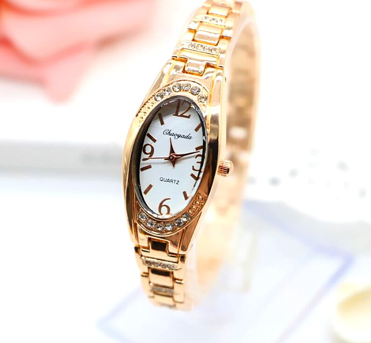 NEW brand CHAOYADA  luxury Women Girl Bracelet Watch Bangle Watch  Ladies Alloy Dress Rhinestone students gift Watch new arrival famous brand diamond bracelet watch women hot sale luxury silver watch jewelry shinning rhinestone bangle bracelet