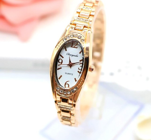 NEW brand CHAOYADA luxury Women Girl Bracelet Watch Bangle Watch Ladies Alloy Dr
