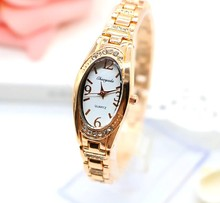 NEW model CHAOYADA luxurious Ladies Woman Bracelet Watch Bangle Watch Women Alloy Gown Rhinestone college students reward Watch