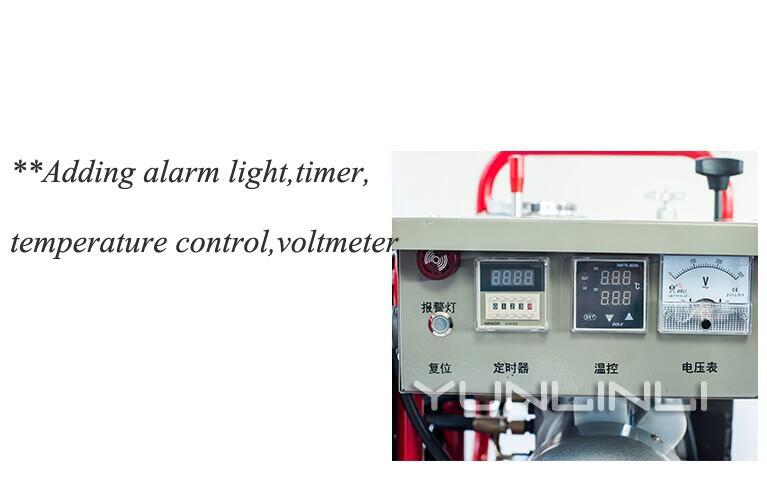 עופרות 63-250mm Hydraumatic באט ריתוך מכונת 220V באט 2000W חם ממיסים מכונת PE באט Fusion רתך מכונת ריתוך (4)