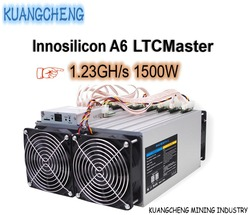 KUANGCHENG Mining industry продает LTC MINER Innosilicon A6 LTCMaster 1. 23GH/s 1500 Вт лучше, чем antminer L3 + Innosilicon A4 +