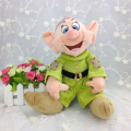 Original Snow White and the Seven Dwarfs Dopey Plush toy 33cm Princess doll kids toys dolls for children