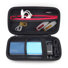 New Zipper Digital Accessories Case Nylon Travel Storage Bag for HDD, Power Bank, U Disk, Charger, Portable Gadget Pocket Pouch
