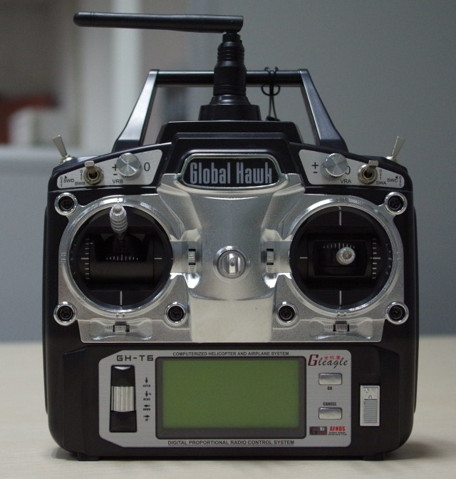 Global Eagle 6CH 2.4G Remote controller +Receiver global global adv workbook