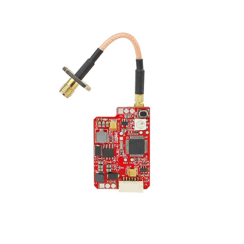 FuriousFPV 2.4G 16CH 25/200/500/800mW Switchable VTX Stealth Long Range FPV Video Transmitter For RC Models Receiver Parts furiousfpv combo stealth long range fpv vtx 700mw with led strip