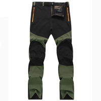 Men Summer Ultra Thin Casual Pants Army Green Male Loose Breathable Trousers Men S Sportswear Quick
