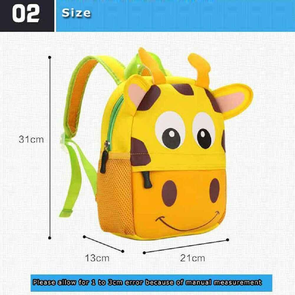 2019 neueste Heiße Nettes Kind Kleinkind Schoo Taschen Rucksack Kindergarten Kinder Mädchen Jungen Schul 3D Cartoon Tier Tasche
