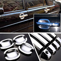 Non-Rusty Chrome Door Handle Bowl Cover Cup Overlay Trim For VW Santana 3000