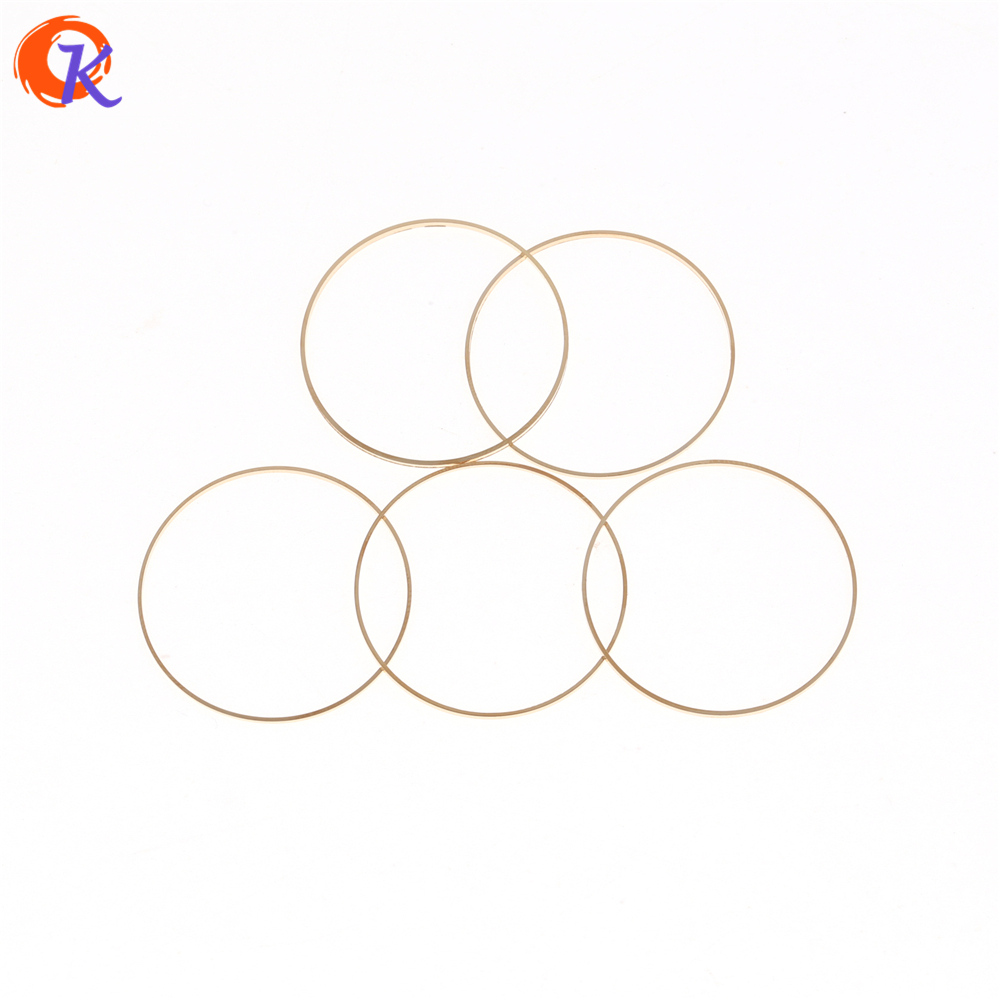 Cordial Design 100Pcs/Lot 30MM Earrings Finding/DIY/Golden Copper Material/Connectors Ring/Earrings Base/Hand Made Accessories