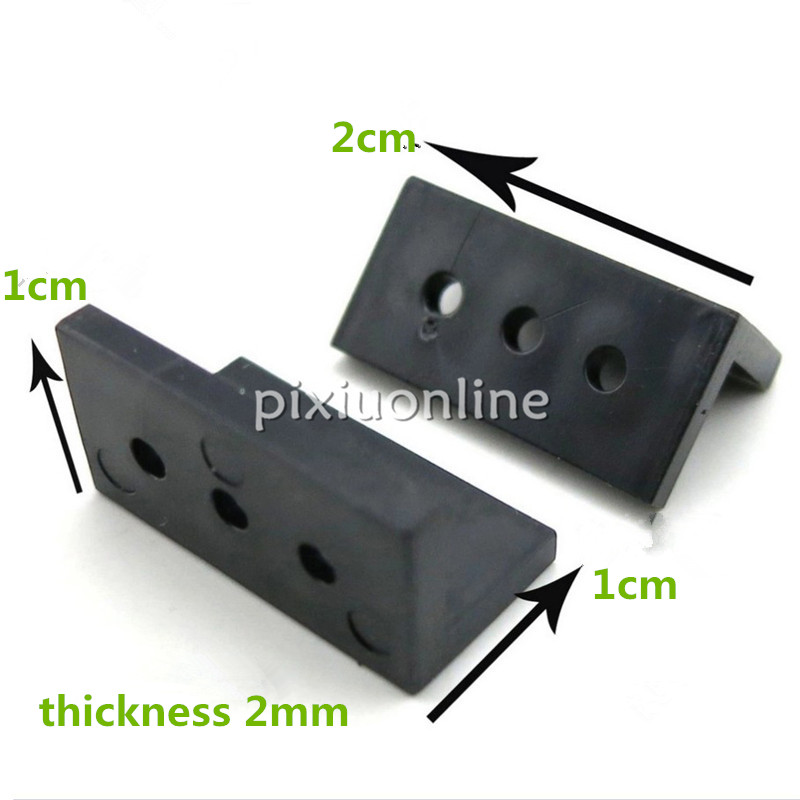 10pcs L-shaped Black Plastic Angle Sheet DIY Model Making Tools Parts Free Shipping France Italy USA 85pcs k841 85 plastic gears pack without repetition diy technology model making free shipping russia