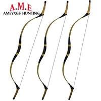 35lbs Традиционный китайский изогнутый деревянный лук Longbow снять Открытый охоты стрельбы игры Estilingue
