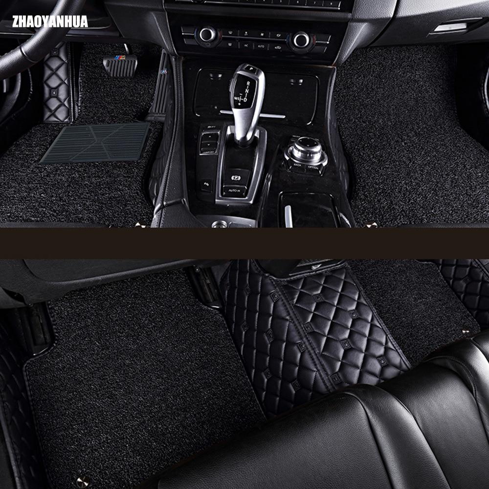 High quality custom fit car floor mats for honda fit crv cr v hr
