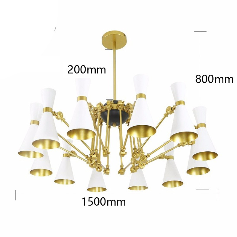 Modern minimalist iron creative adjustable chandeliers corridors porch lamps balcony lighting hall entrance lights (3)