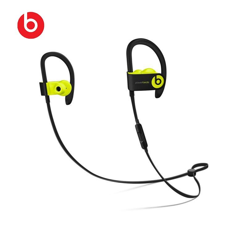 100% Original and new Beats Powerbeats3 by Dr. Dre Wireless Bluetooth Earphone Dynamic Sound Flexible Sports Global Warranty какие наушники dr dre