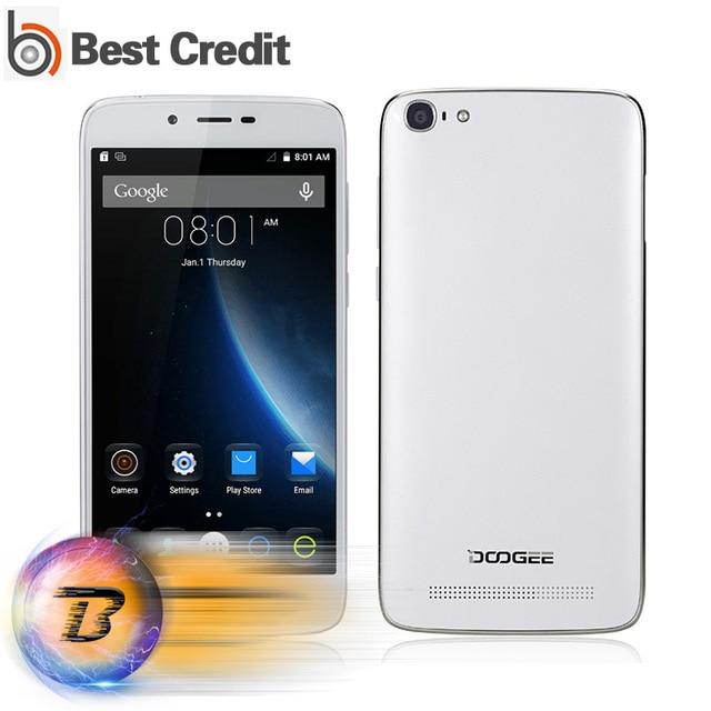 100% Original DOOGEE Y200 Android 5.1 Mobile Phone 5.5inch MTK6735 Quad Core 2GB RAM 32GB ROM HD 4G LTE Smart Phone Dual Sim