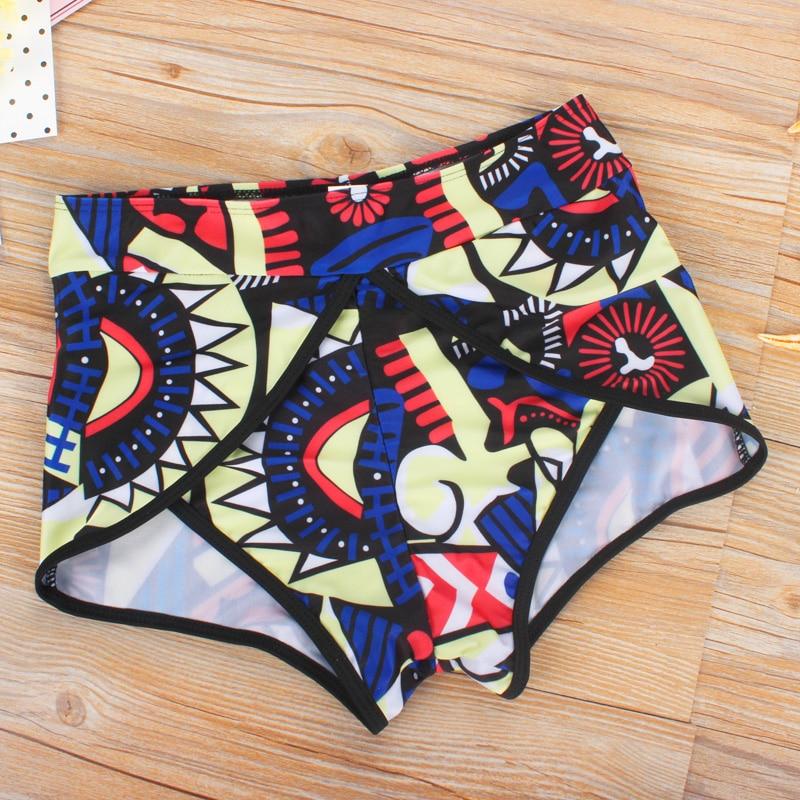 3bd2d179ba Mesh Tankinis Women Bathing Suit Swimwear High Waist Swimming Suit Retro  Vest Tank Top Tankini Bra Shorts Sports Swimwear -in Bikinis Set from Sports  ...