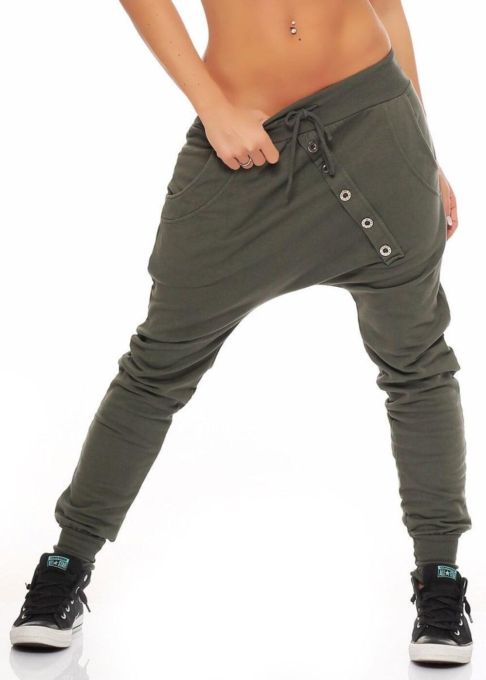 ZOGAA Plus Size S-4XL Womens Sport Pants New Fashion Full Length Harem Pants Loose Sweatpants Streetwear Women Joggers