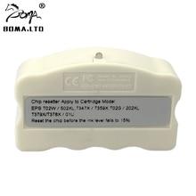 BOMA.LTD 34XL 35XL Original Cartridges Chip Resetter For EPSON WF-3725DWF WF-3720DWF WF-4740DTWF WF-4720DW WF-4725DW Printer t34 34 xl chip resetter 4pcs wf3725 empty refillable cartridge without chip for epson wf3725 wf3720 wf 3720dwf wf 3725dwf