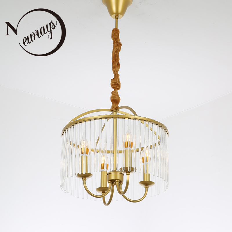 American vintage wrought iron pendant lamp E14 LED gold pendant lights for living room bed room dining room study office hotel ark light vintage rural style pendant light american wrought iron led pendant light cottage dining room living room study room