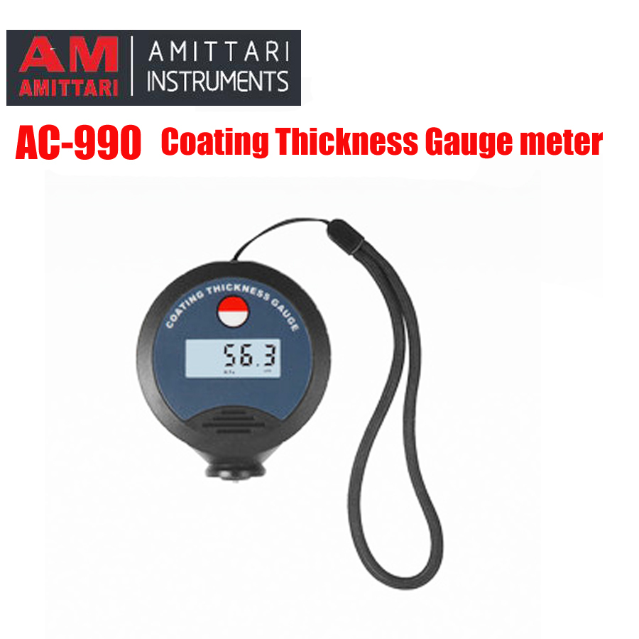 AC-990 Coating Thickness Gauge meter usd for Car paint N/NF ,Coating Thickness Gauge is suitable for automotive