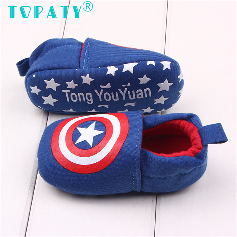 TOPATY Brand New Infant Soft Soled Crib Shoes Baby Boys Warm Toddler Shoes Sapatos De Bebe Zapatos