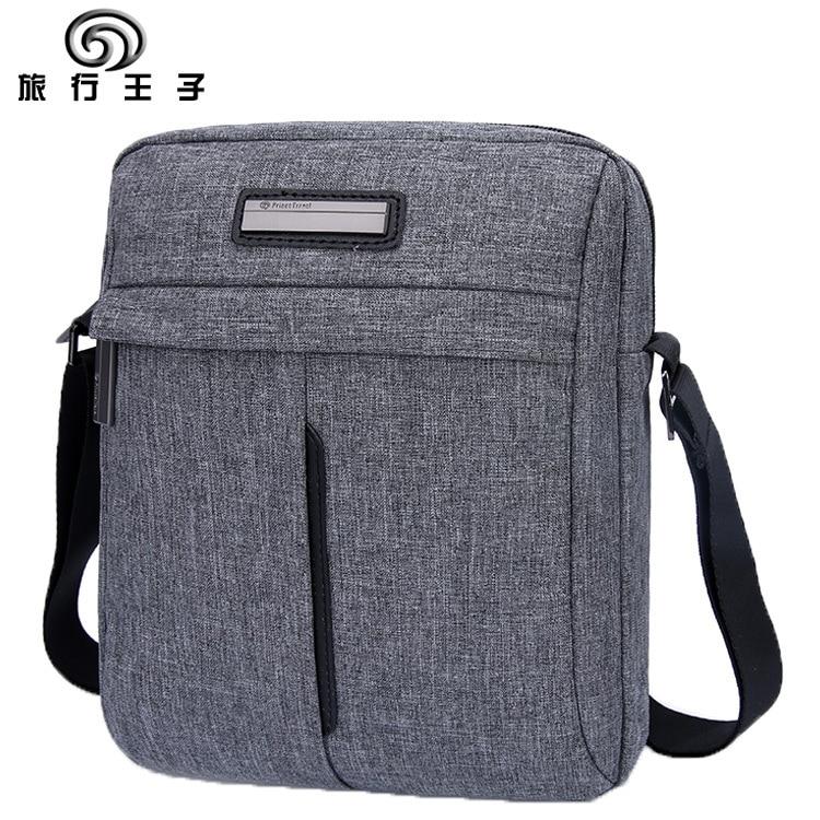 28fbe062e 2016 Nuevo Navidad regalo hombres mensajero bolsa de alta calidad  impermeable para las mujeres viaje de negocios crossbody gris