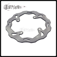 Rear Wavy Brake Disc Rotor For KAWASAKI KX125 KX250 KX 125 250 2003 2004 2005 2006