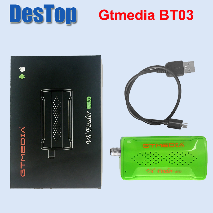 GTMEDIA V8 FINDER BT03 Bluetooth DVB Finder DVB-S2 Supports Android and IOS OS