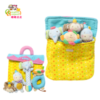 FashionNewborn Infant RattlesToyHandbell Cartoon Animal Boy Girl Hand Bell Toddler Baby Plush Toys Gifts