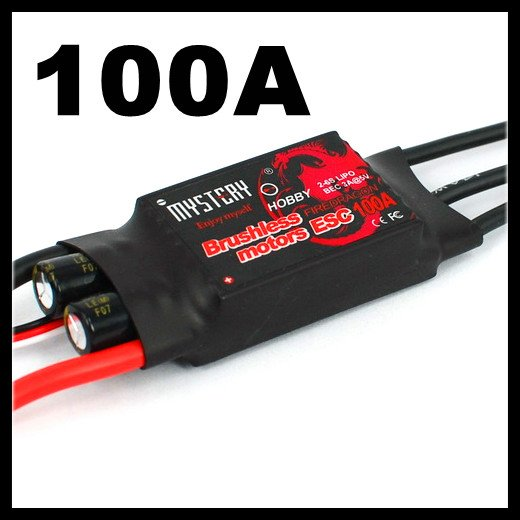 Mystery Fire Dragon 100A Brushless ESC RC Speed Controller image