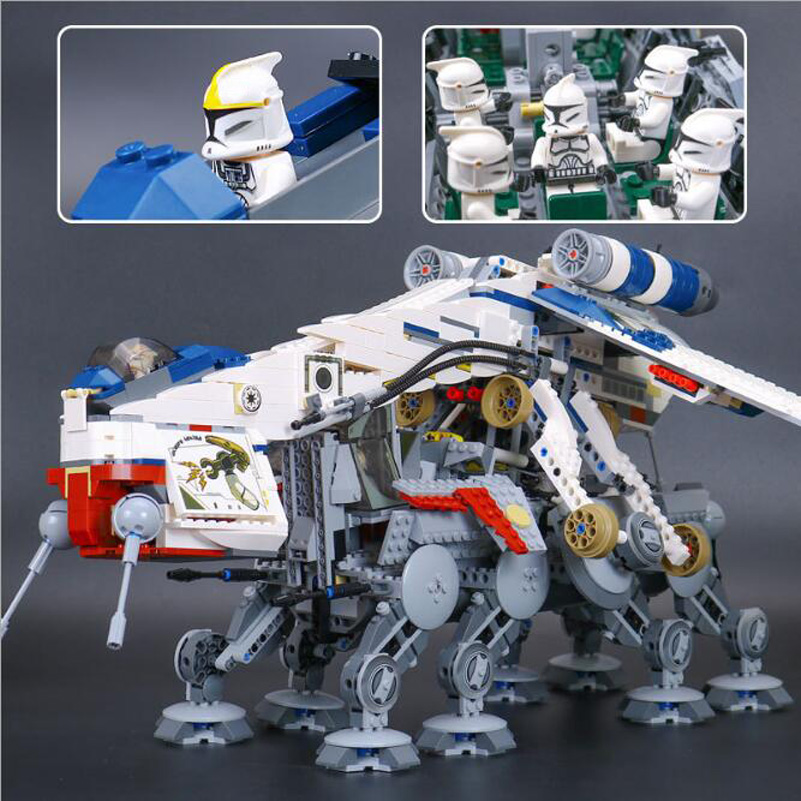 Compatible Lepin Star Wars Series Building Blocks The Republic Dropship Education Construction Toys For Children Gifts 05053 lepin 70609 ninja series the manta ray bomber model building blocks set compatible education toys for children gifts