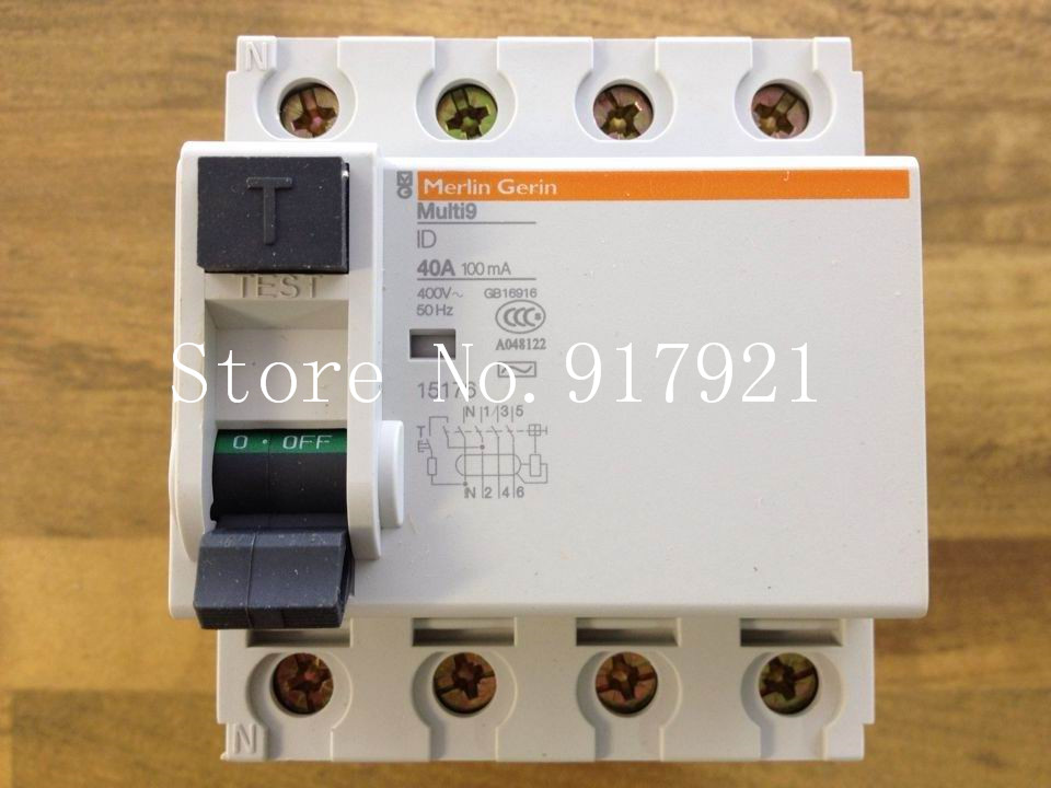 [ZOB] original RCCB 40A 100MA 15176 circuit breaker leakage following the new genuine