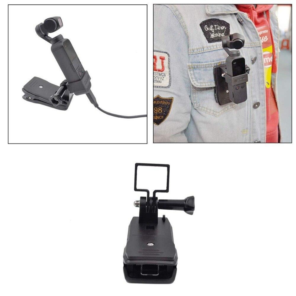 Multi-función universal adaptador de pinza para DJI Osmo bolsillo 3-eje estabilizado de mano MiNi cámara cardán
