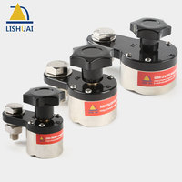 LISHUAI On/Off Magnetic Welding Ground Clamp Rare Earth Switchable Magnet Welding Holder 200A/300A/600A