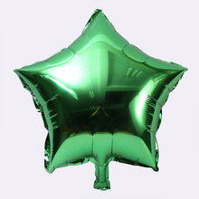 Colorful Five-pointed Star Shaped Foil Balloons